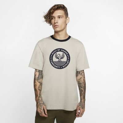 Męski T-shirt Premium Fit Hurley x Carhartt BFY Built Ringer