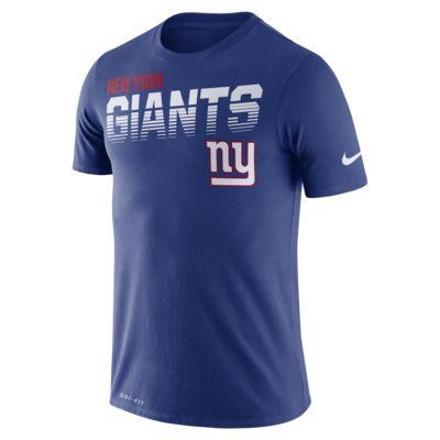 Playera manga corta para hombre Nike Legend (NFL Giants)