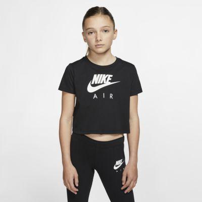 Nike Air-crop top til store børn (piger)
