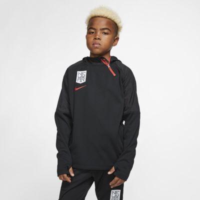 Nike Dri-FIT Neymar Jr. Fußball-Hoodie für ältere Kinder