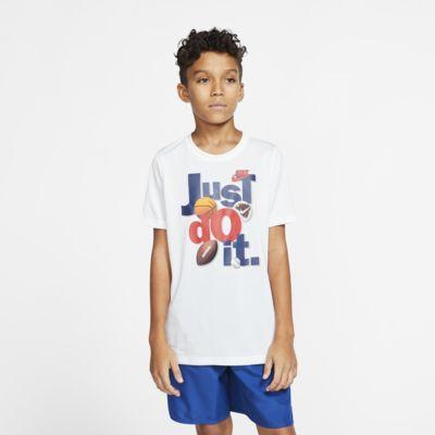 เสื้อยืดเด็กโต Nike Dri-FIT (ชาย)