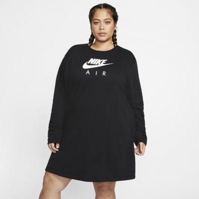 Fleeceklänning Nike Air för kvinnor (stora storlekar)