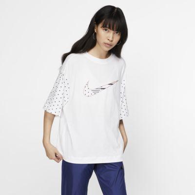 Nike Sportswear Unité Totale-kortærmet top til kvinder