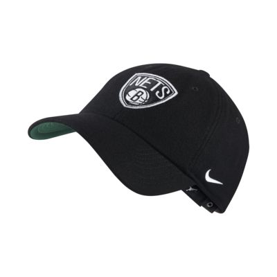 Casquette de NBA Brooklyn Nets Nike Heritage86 mixte