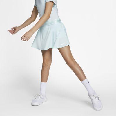 NikeCourt tenniskjol för ungdom (tjejer)