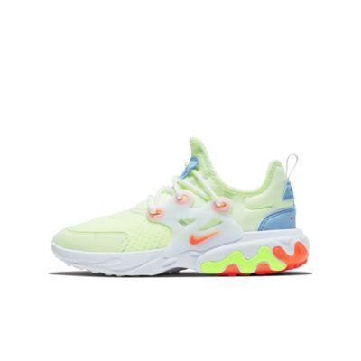 aa7caf0cbbad Nike React Presto Big Kids  Shoe. Nike.com