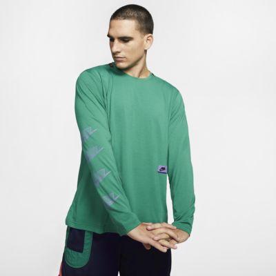 Męska koszulka treningowa z długim rękawem Nike Dri-FIT