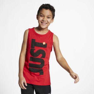 Nike Sportswear Just Do It trikó nagyobb gyerekeknek (fiúknak)
