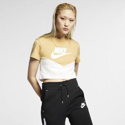 Nike Sportswear Heritage Kurzarm-Oberteil für Damen