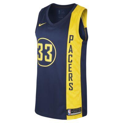 Купить Мужское джерси Nike НБА Myles Turner City Edition Swingman Jersey (Indiana Pacers) с технологией NikeConnect
