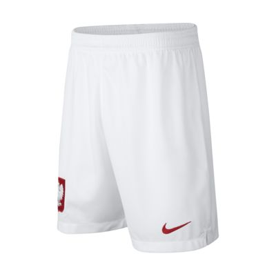 2018 Poland Stadium Home Older Kids' Football Shorts