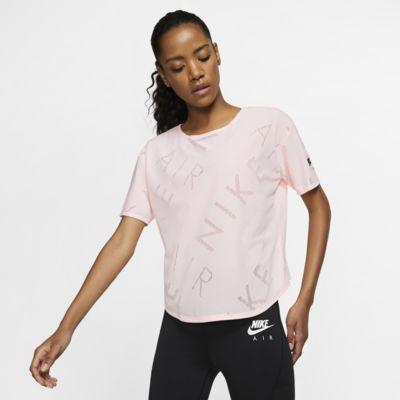Nike Air Camiseta de running de manga corta - Mujer
