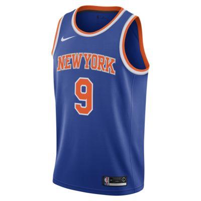 RJ Barrett Knicks Icon Edition Swingman Nike NBA-jersey voor heren