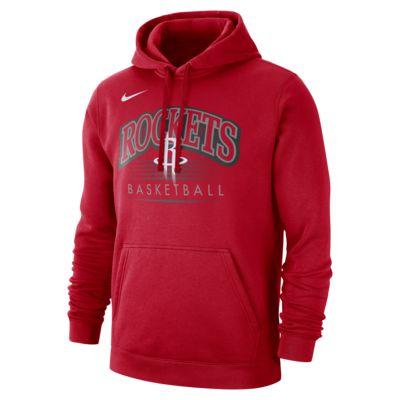 Sudadera con capucha de la NBA para hombre Houston Rockets Nike