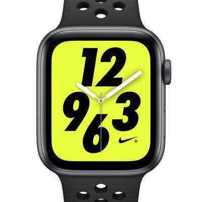 アップル ウォッチ ナイキ+ シリーズ 4 (GPS) とナイキ スポーツバンド 44mm スポーツウォッチ
