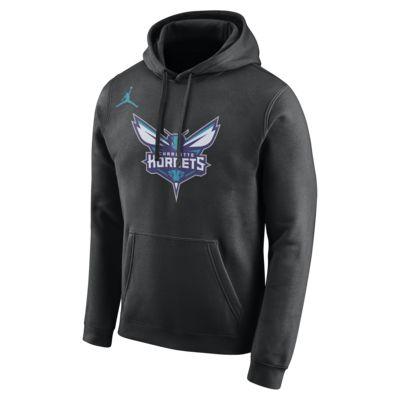 Charlotte Hornets Jordan Men's Logo NBA Hoodie