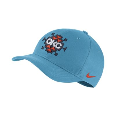 Oklahoma City Thunder City Edition Nike AeroBill Classic99 NBA 帽款