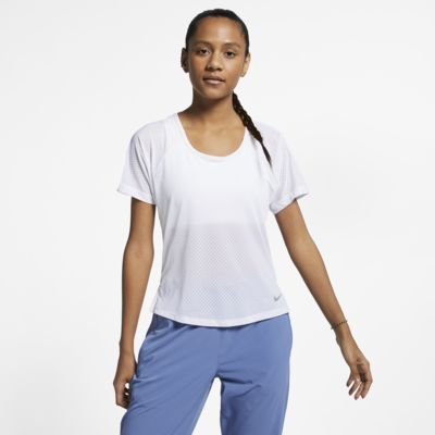 Top de running para mujer Nike Breathe Miler