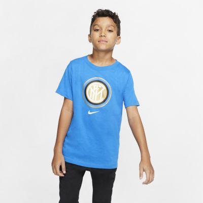 Tee-shirt de football Inter Milan pour Enfant plus âgé