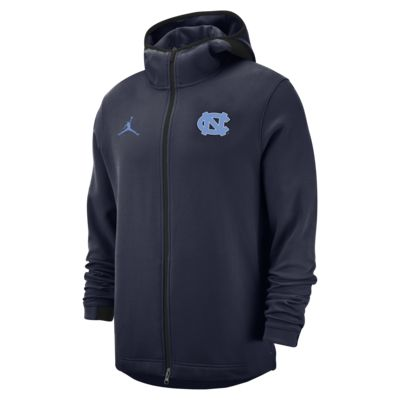 Jordan College Dri-FIT Showtime (UNC) Men's Full-Zip Basketball Hoodie