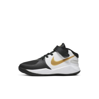 NikeTeam Hustle D 9 Flyease (PS)幼童运动童鞋