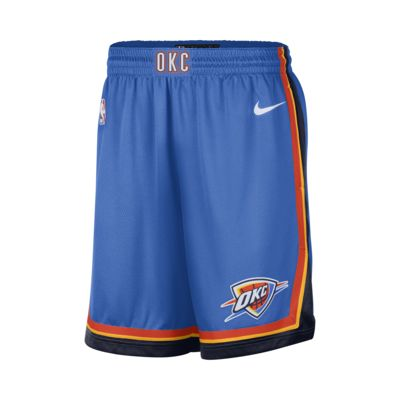 Oklahoma City Thunder Icon Edition Swingman Men's Nike NBA Shorts
