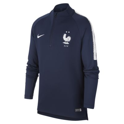 FFF Dri-FIT Squad Drill Older Kids' Long-Sleeve Football Top