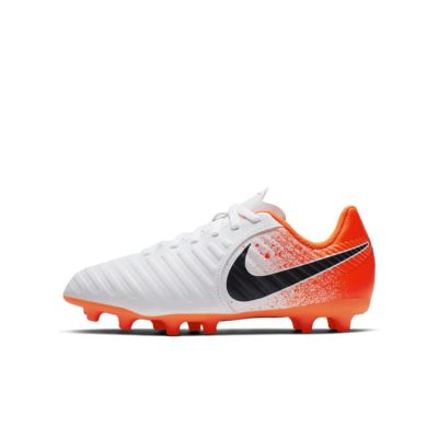 Nike Jr. Tiempo Legend VII Club 幼/小童天然偏硬草地足球釘鞋