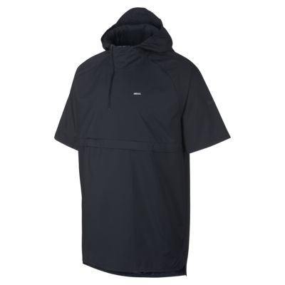Chamarra de fútbol con capucha de manga corta para hombre Nike F.C.