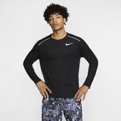 Pánské běžecké tričko Nike Rise 365 s dlouhým rukávem