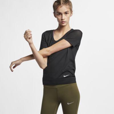 Nike Infinite Kurzarm-Laufoberteil für Damen