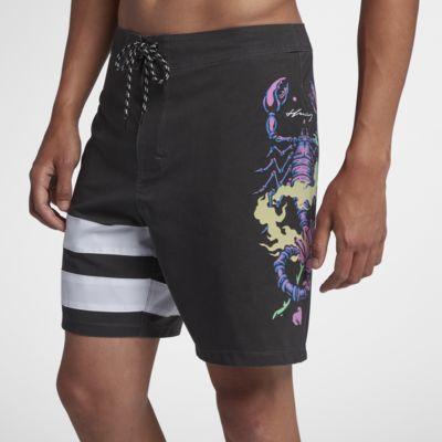 Shorts de playa de 46 cm para hombre Hurley Phantom Team WIlson
