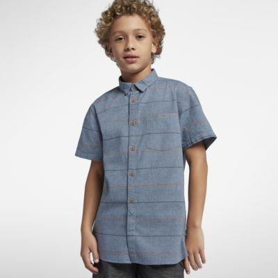 Hurley Clifton Boys' Short-Sleeve Shirt