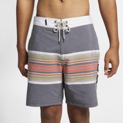 Calções de banho de 46 cm Hurley Pendleton Acadia Beachside para homem