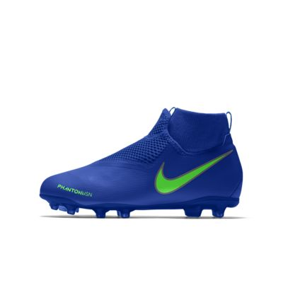 Nike Phantom Vision Academy Jr. MG By You Custom Older Kids' Multi-Ground Football Boot
