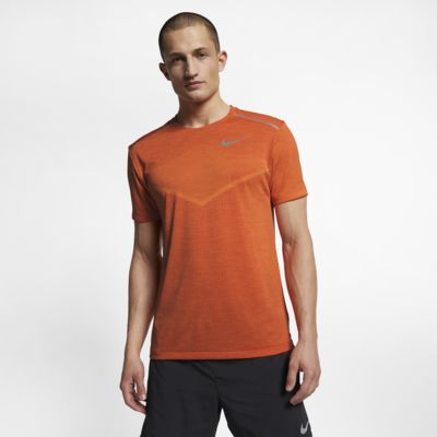 Prenda para la parte superior de running de manga corta para hombre Nike TechKnit Ultra