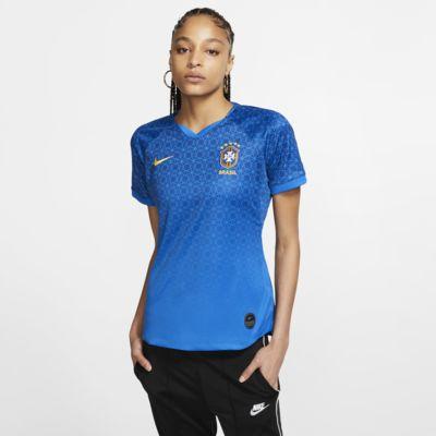 Camiseta de fútbol para mujer Brasil 2019 Stadium Away