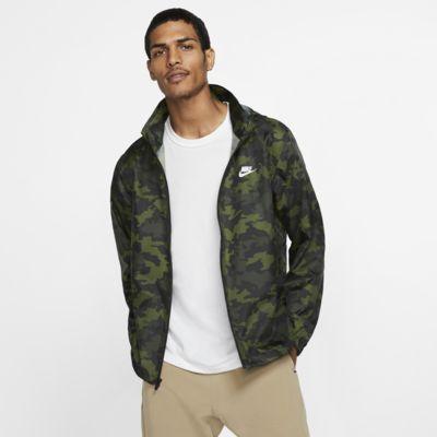Мужская куртка с капюшоном и камуфляжным принтом Nike Sportswear