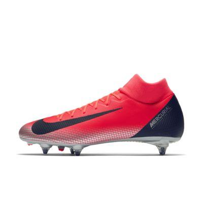 Calzado de fútbol para terreno blando CR7 Superfly 6 Academy