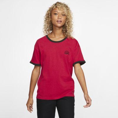 Купить Женская футболка Hurley x Carhartt Ringer, Тренировочный красный, 24321289, 12836889