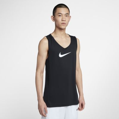 Nike Dri-FIT-basketballoverdel til mænd