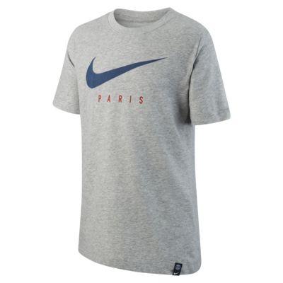 Nike Dri-FIT-Paris Saint-Germain-fodbold-T-shirt til store børn