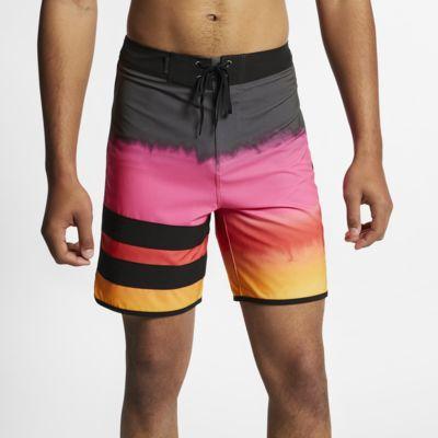 Hurley Phantom Block Party Fever Herren-Boardshorts (ca. 46 cm)