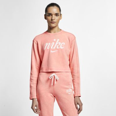 Nike Sportswear Dessuadora de coll rodó curta - Dona