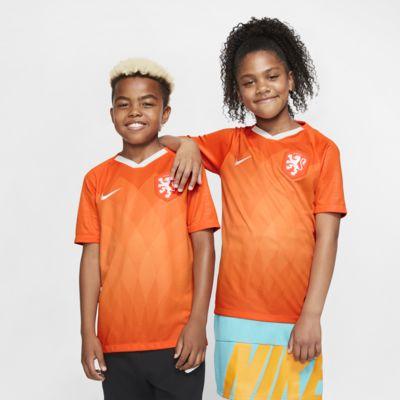 Hollanda 2019 Stadyum İç Saha Genç Çocuk Futbol Forması