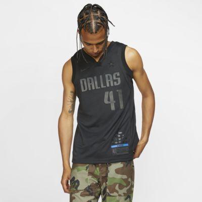 Camiseta conectada Nike NBA para hombre Dirk Nowitzki MVP Swingman (Dallas Mavericks)