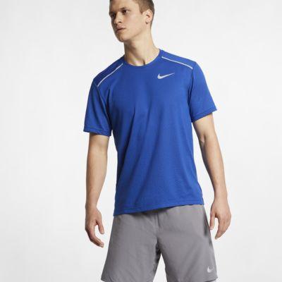 Ανδρική κοντομάνικη μπλούζα για τρέξιμο Nike Rise 365
