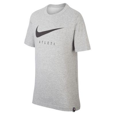 Playera de fútbol para niños talla grande Nike Dri-FIT Atlético de Madrid