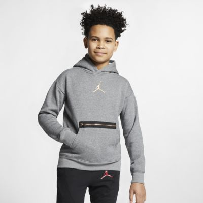 Jordan pullover-hættetrøje til store børn