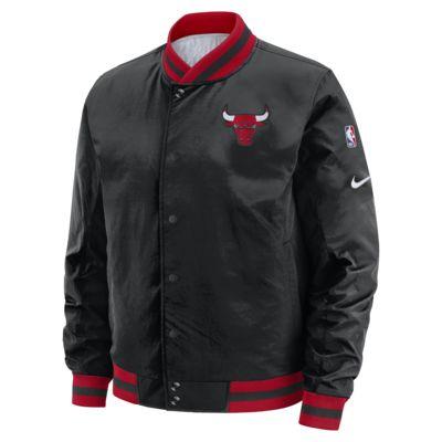 Chicago Bulls Courtside Nike NBA-s kifordítható férfikabát